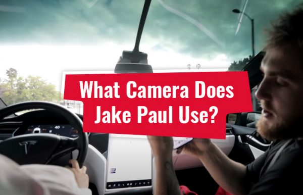 What camera does Jake Paul use