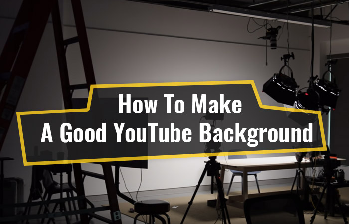 14 Creative Background Ideas For YouTube Videos