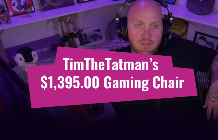 What Chair Does TimTheTatman Use? (UPDATED)